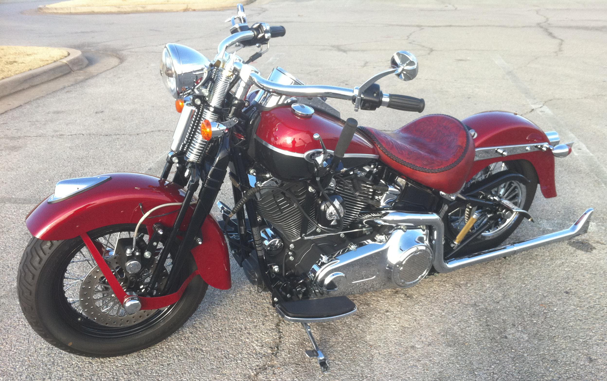 Harley Davidson Sportster Hand Shift